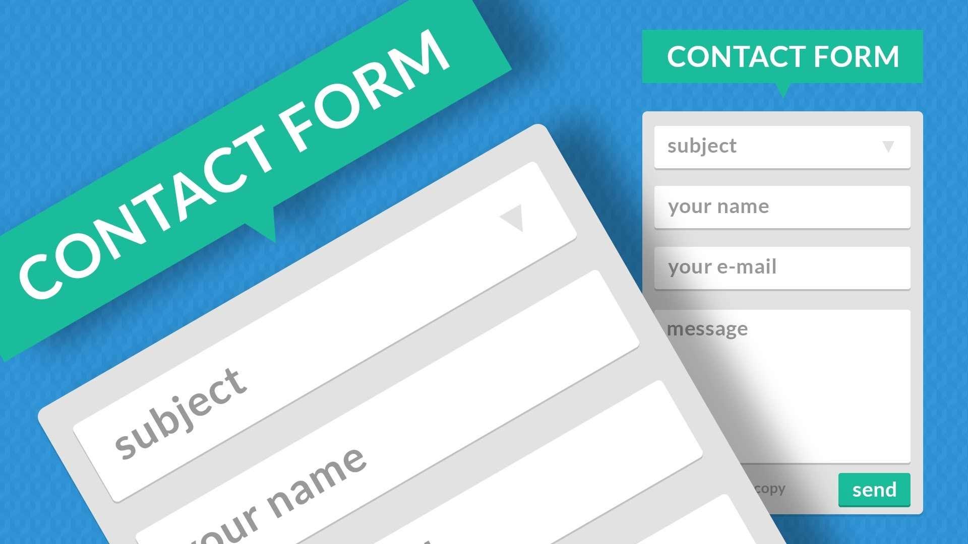 Как сделать пользовательские формы удобными