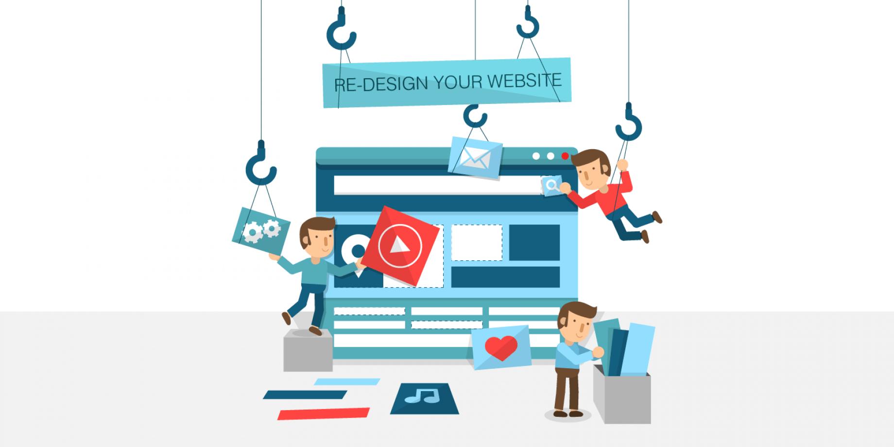Обновите дизайн сайта