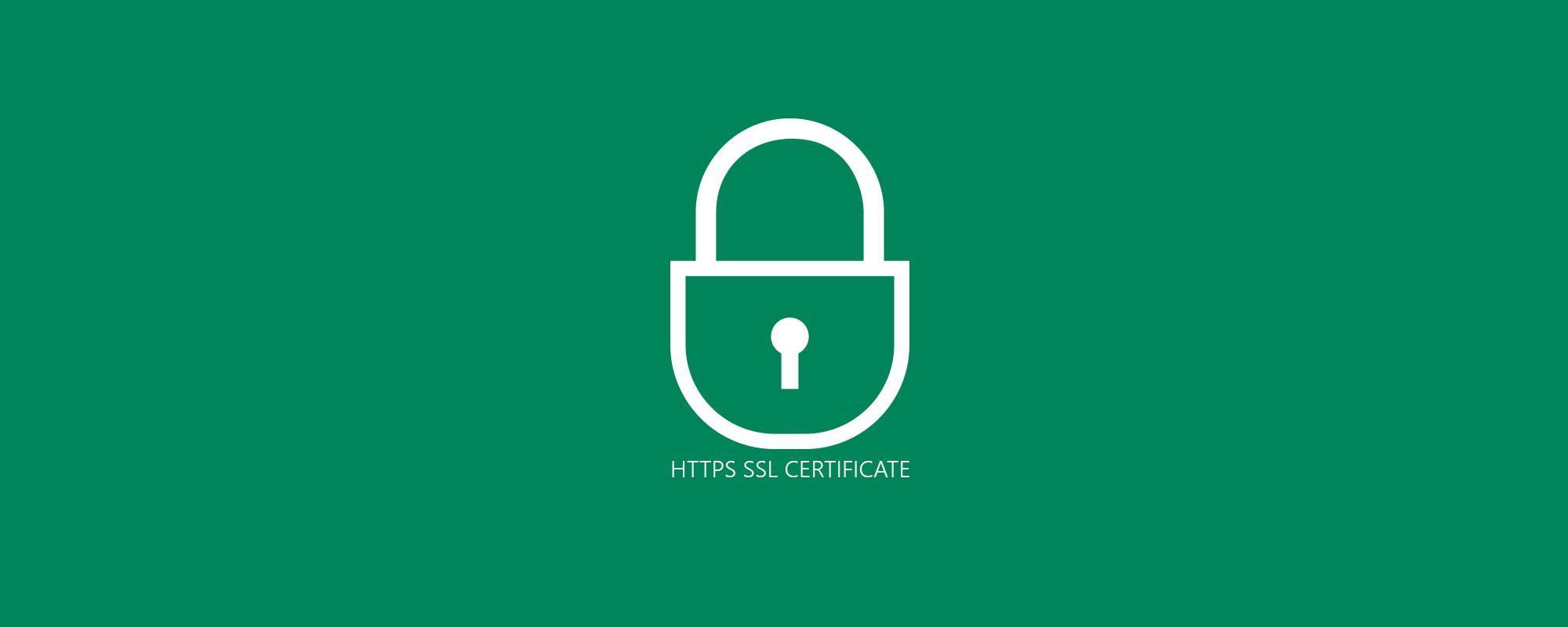 Поговорим о HTTPS и SSL-сертификате