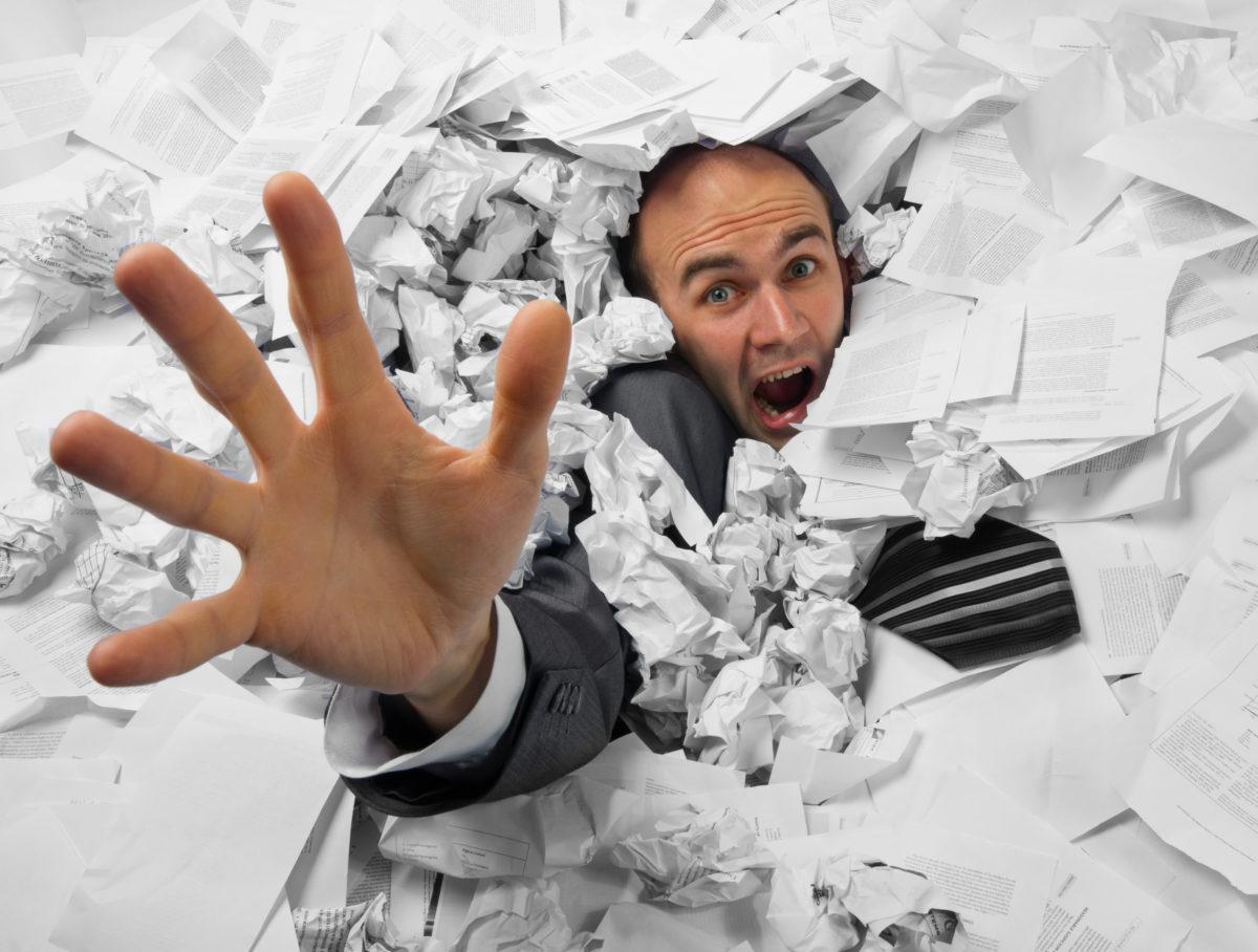 Причина 5. Информационный хаос.
